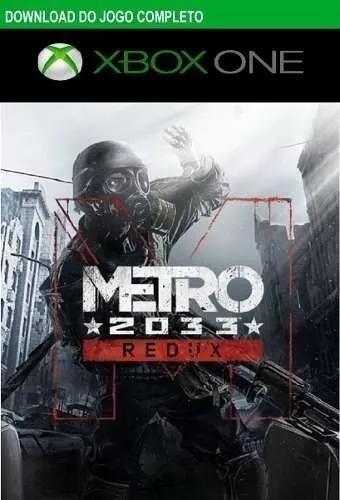 Metro 2033 Redux Xbox One Digital Codigo 25 Digitos