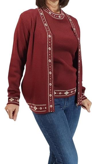 Conjunto Twin Set Saquito Sweater