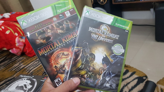 Mortal Kombat Vs Dc Universe + Mortal Kombat 9 Complete Edition Xbox 360 Lacrado