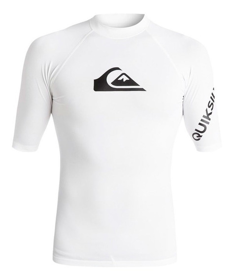 Playera Deportiva Para Surf Ajustable Blanco Quiksilver