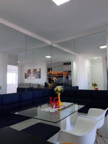 Imagem 1 de 15 de Apartamento Com 2 Dormitórios À Venda, 68 M² Por R$ 525.000,00 - Jardim Flor Da Montanha - Guarulhos/sp - Ap2356