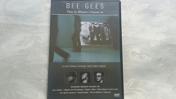 Dvd Bee Gees This Is Where I Came In Original Excelente