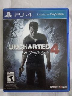 Uncharted 4 Ps4 Juego Fisico Usado Envios Sevengamer
