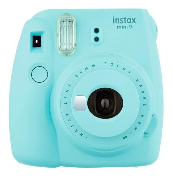 Fujifilm Instax Mini 9 Ice Blue Camara Instantanea Polaroid