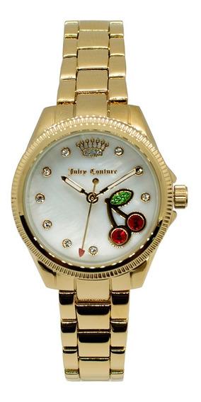 Reloj Juicy Couture Acero Correa Dorado