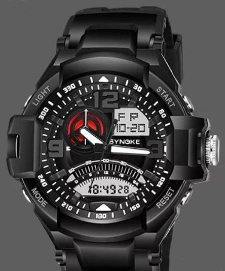 Relógio Masculino Synoke 67876 Anti Shock Prova D