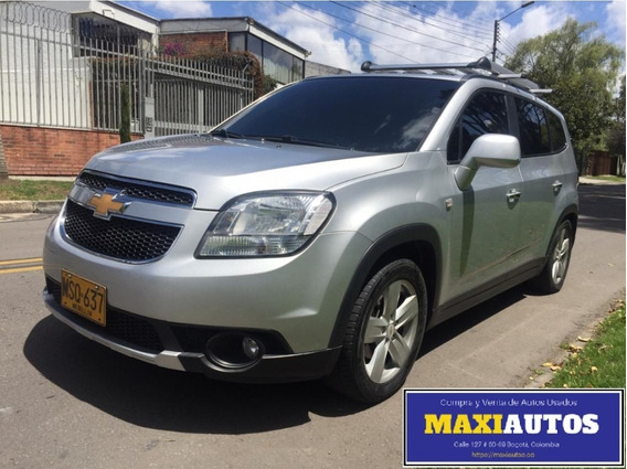 Chevrolet Orlando 2013 Siete Pasajeros