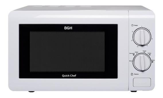 Microondas Bgh Quick Chef 20 Litros B120m16 Blanco 700w