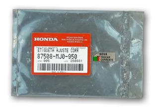 Adesivo Ajuste Corrente Honda Cbx 750 Todas. Leia Descrição*