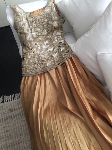 Espectacular Conjunto / Vestido De Sathya (ideal Madrina)