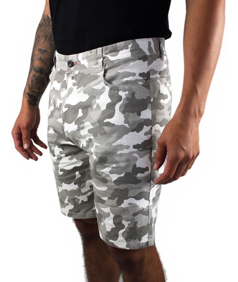 Short Bermuda Para Hombre Camuflaje