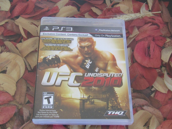 Ufc Undisputed 2010 - ( S/encarte ) - Ps3