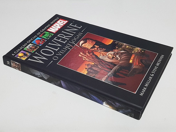 Livro Graphic Novels Marvel Ed. 29 (58) - O Velho Logan