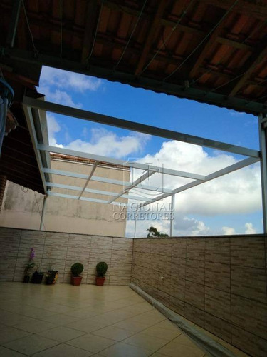 Cobertura À Venda, 106 M² Por R$ 345.000,00 - Vila Tibiriçá - Santo André/sp - Co5251