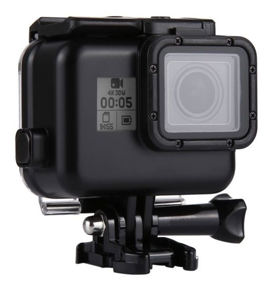 Caixa Estanque Tela Touch Para Gopro Hero 5 6 7 Black