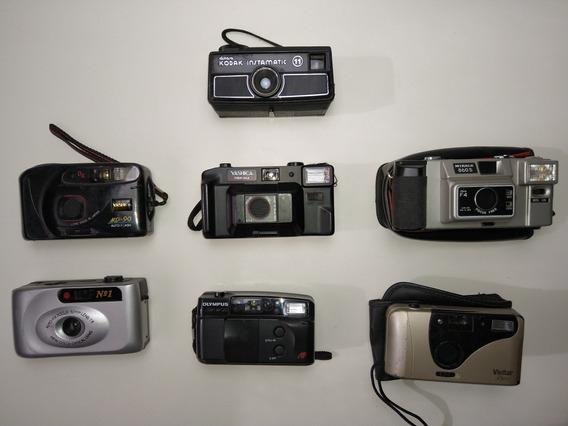Lote Câmeras Antigas