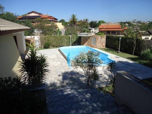 Imagem 1 de 7 de Casa Com 4 Dormitórios À Venda, 512 M² Por R$ 1.890.000,00 - Vista Alegre - Vinhedo/sp - Ca0468