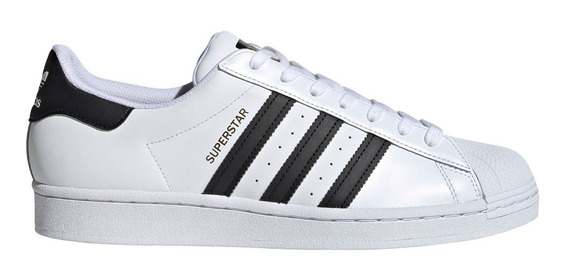 Zapatillas adidas Originals Superstar Unisex Bla/neg