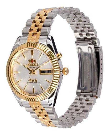 Relógio Orient Unissex Automático Bicolor 469ed1s1ks