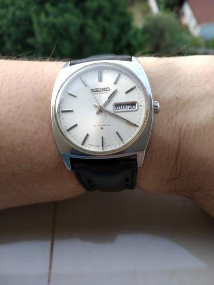 Magnifico Relógio Vintage Seiko 6319-8000 Automático + 2 Pulseiras Couro + Nato