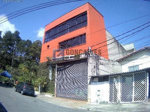 Imagem 1 de 8 de Venda Galpao Sao Bernardo Do Campo Demarchi Ref: 68309 - 1033-1-68309