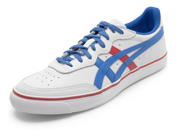 Tênis Asics Onitsuka Tiger Top Spin Lea Unissex Couro + Nf