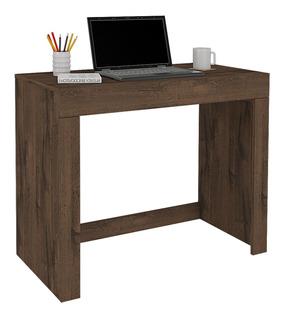 Mesa Escrivaninha Para Pc Permóbili Móveis Cleo Fosco Café