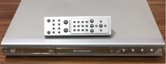 Dvd Player Cougar Cvd-550 - Peças : 0083