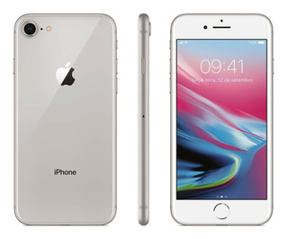 iPhone 8 Prata Silver 256gb Anatel Lacrado Nota Fiscal