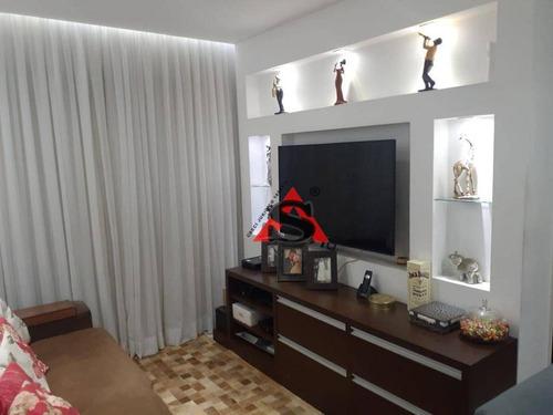 Apartamento Com 2 Dormitórios À Venda, 50 M² Por R$ 360.000,00 - Cambuci - São Paulo/sp - Ap43227