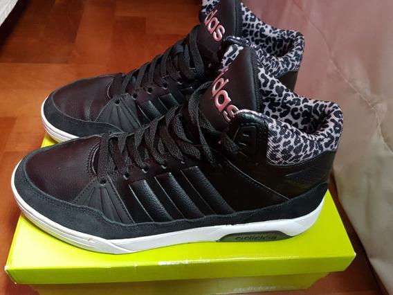 Zapatillas adidas Neo Botita Skate Play9tis W Negro Nro 38
