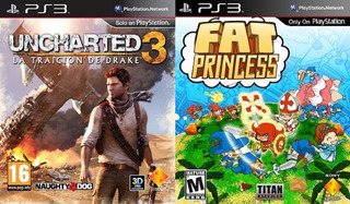 Uncharted 3 Goty La Traicion De Drake + Fat Princess