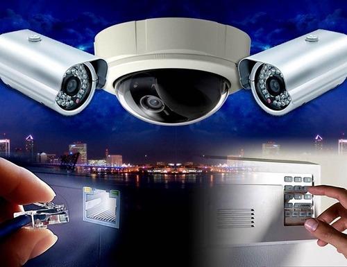 Imagem 1 de 5 de Instalação De Câmeras De Segurança/cerca Elétrica/alarme