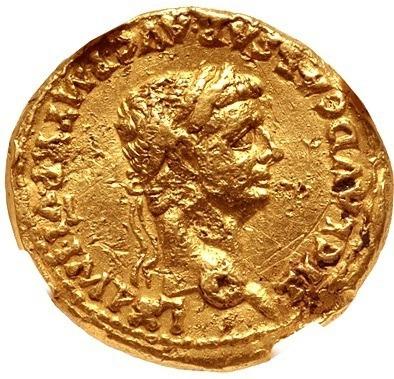 C M - Moeda Roma Aureus Do Imperador Cláudio 41-54 Dc Ngc