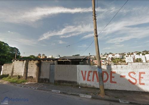 Terreno  De 6480,00 M2, Para Construção, Vila Carmozina - Itaquera. - Md216