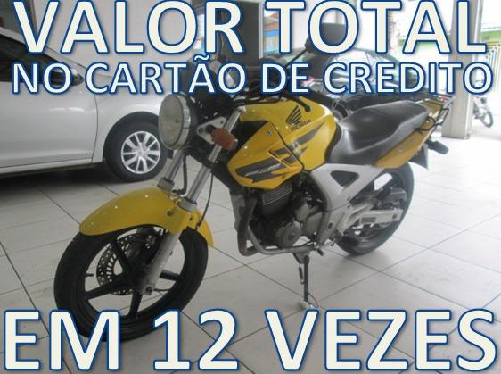 Honda Cbx 250 Twister Parcelo Em 12 Vezes Cartao De Credito