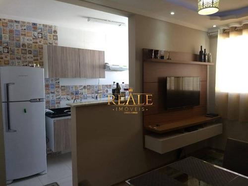 Apartamento À Venda, 56 M² Por R$ 240.000,00 - Recanto Quarto Centenário - Jundiaí/sp - Ap0736