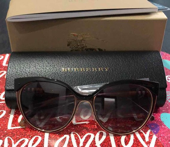 Lentes De Sol Burberry Cat Eye Be3096 Mujer Original