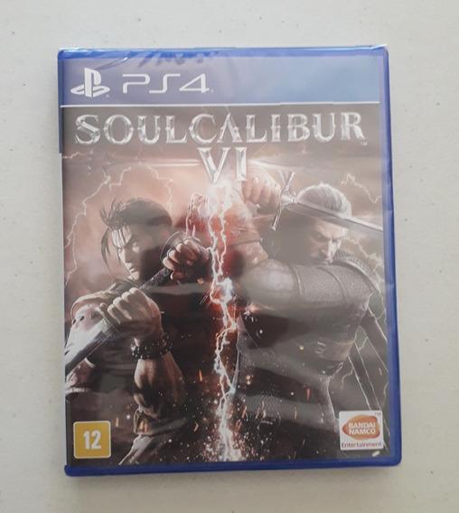Jogo Soul Calibur 6 Vi Ps4 Mídia Física Novo Português Cd