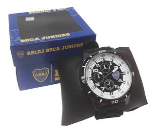 Reloj Supertop Y Llavero De Boca Con Boligrafo De Regalo