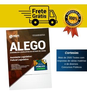 Apostila Alego - Policial Legislativo Assembleia De Goiás