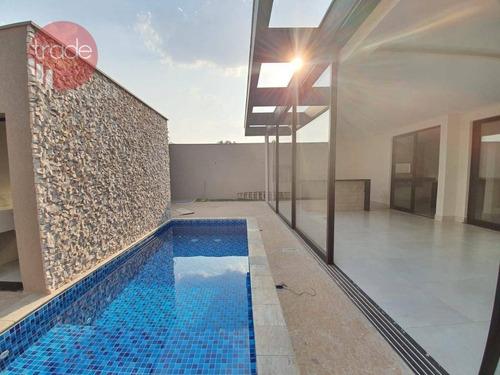 Casa Com 4 Dormitórios À Venda, 367 M² Por R$ 1.650.000,00 - Jardim Nova Aliança Sul - Ribeirão Preto/sp - Ca3735