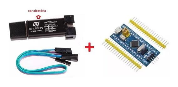 Stm32f103c8t6 Arm Stm32 + Gravador E Programador St-link V2