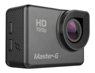 Camara Deportiva Master G Hd 720p Sumergible Con Accesorios