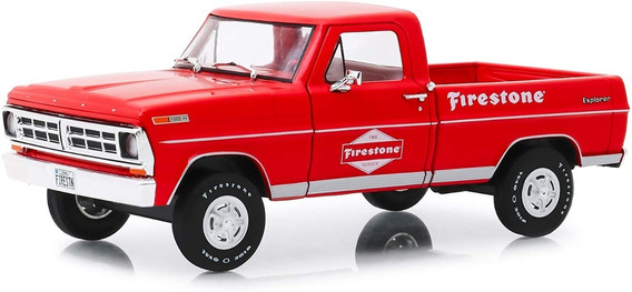 Greenlight Running On Empty Firestone 1971 Ford F-100 1:24
