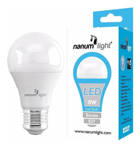 Bombillo Led Bulb E27 8w (85-277v) 3000k/6500k Nanum Light
