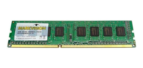 Memoria Ram Markvision 8gb 1x8gb Ddr3 1600 Mhz Bulk Pc