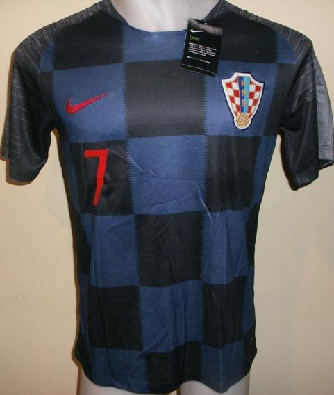 Camiseta De Croacia Suplente Mundial 2018 Rakitic Nueva