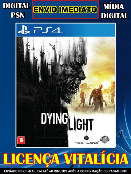 Dying Light Ps4 Vitalicia Psn Digital Completo Envio Ja