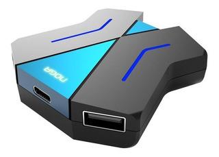 Adaptador Hub Usb Para Consolas Teclado Mouse Apto Ps4 Xbox